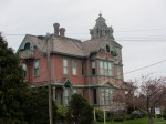 Many old Victorians in upper old town Port Townsend. This one's for sale for about a million dollars.