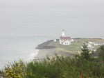 A lighthouse on the tip of the Olympic Peninsula, Wa.
