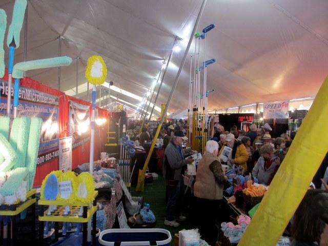 The 2013 Quartzsite, Az. RV show in the big tent.