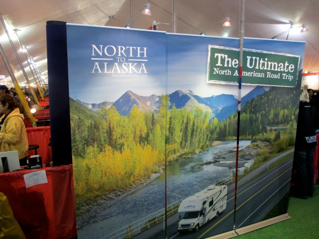 The 2013 Quartzsite, Az. RV show in the big tent.