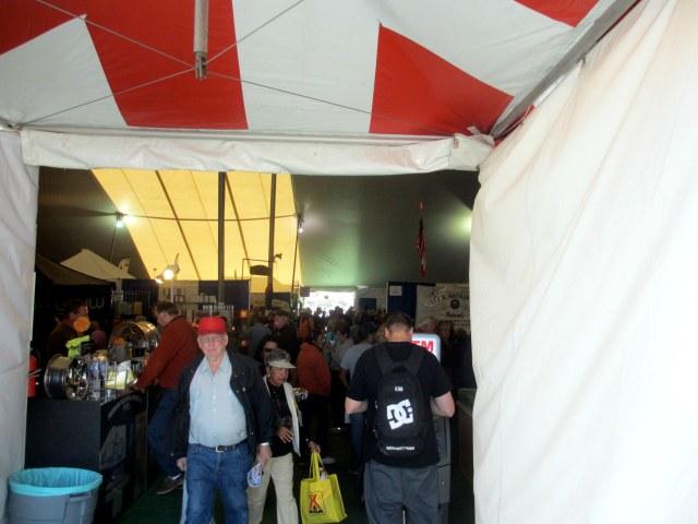 The 2013 Quartzsite, Az. RV show, in the big tent.