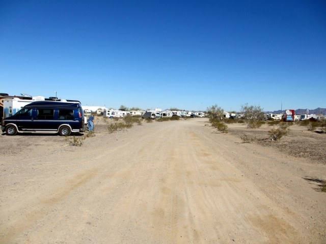 Lots of places to boondock on BLM land within walking distance to the tent.